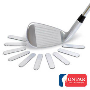 On Par Lead Tape (Pack of 10) for Putters Irons Woods Change your Ball Flight