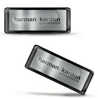 3D Silicone Domed Stickers Harman Kardon Bluetooth Speakers Portable Logo Emblem