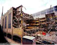 Historic Boston Garden Demolition Photo Celtics Bruins Sports North Station