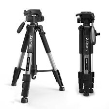 "ZOMEi 55"" Aluminum Tripod Heavy Duty Travel Flexible For Nikon Canon DSLR Camera"