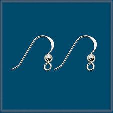50 Sterling Silver Earring Finding Ear Wire Hook