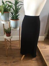 Ladies Maxi Wrap Skirt Size 18 Black Maternity BNWT Plus