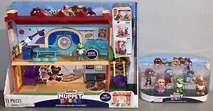 *BRAND NEW* Muppet Babies Schoolhouse Playset & 6 Pack Playroom Figures Set