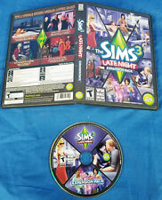 PC The Sims 3: Late Night Expansion Pack NO SERIAL/KEY Computer Game Simulation