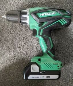 Hitachi HiKoki Cordless 18v Combi Hammer Impact Drill Driver 1.5Ah Li-io Battery