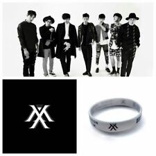 KPOP Monsta X Silicon Bracelet Wristband JOOHEON SHOWNU KIHYUN MINHYUK WONHO