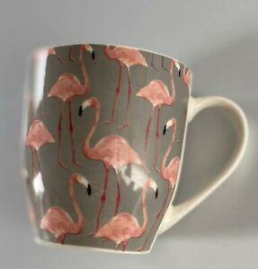 Novelty Large Hugga Porcelain Mug - Flamingo 500ml