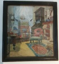 Antique Watercolour Painting in Original Frame
