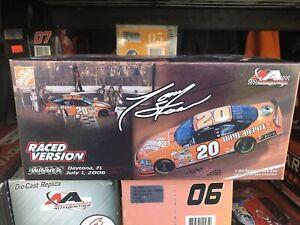 Tony stewart 1/24 diecast Daytona Raced Win 2006 Monte Carlo SS  1 of 2,676