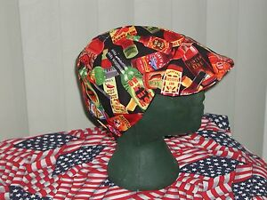 Red Hot Sauce: Red's American Made Welding Hat, Biker 4 Working Men $7.50 each