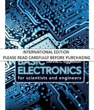 Basic Electronics for Scientists and Engineers by EGGLESTON