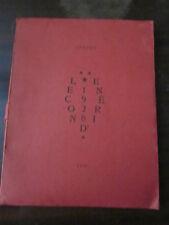 ARAGON LE CON D'IRENE EDITION 1948