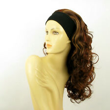 headband wig long curly copper wick light blonde and red BUTTERFLY 33h130