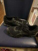Asics GT-1000 4 Triple Black Mens Running Sneakers Shoes T5A2N Size 14 NICE!!!