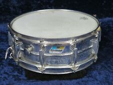 Ludwig Olive&Blue Supraphonic 5x14 Concert Snare Drum Ser#3033824 Anti-Galvanic