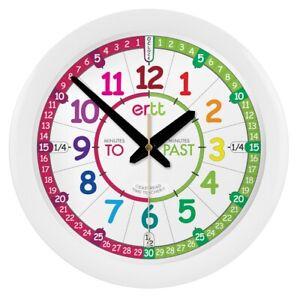 Easy Read EasyRead Time Teacher Wall Clock ERTT  :: Past To :: 29cm