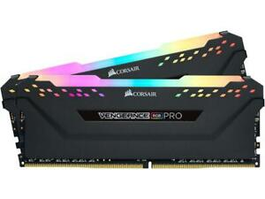 Corsair Vengeance RGB Pro 32GB 2x16G DDR4 2666MHz MEMORY RAM  CMW32GX4M2A2666C16