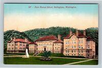 Bellingham WA, State Normal School, Vintage Washington Postcard