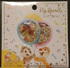 Disney Chip and Dale Flake Stickers 12 Designs x8 96pc pack - Japan Import
