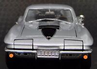 1967 Corvette Vette Chevy 1 Sport 18 Race Car 64 Vintage 24 Carousel Silver 12