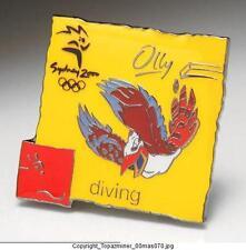 OLYMPIC PINS 2000 SYDNEY AUSTRALIA MASCOT DIVING