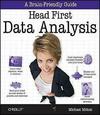 Head First Data Analysis 2e by Michael Milton (Paperback, 2009)
