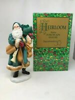 "Department 56 Heirloom Porcelain Santa Clause Figure Decoration Decor 12"" In Box"