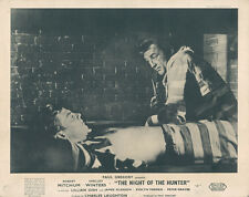 Night Of The Hunter Original British Lobby Card Robert Mitchum In Prison
