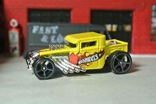 Hot Wheels Bone Shaker Loose - Yellow - 1:64 - Forza HW Daredevils