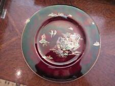 """More details for carlton ware pagoda pattern 10 7/8""""plate"""