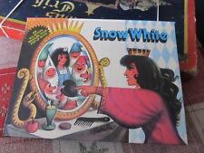 Snow White vintage Pop-Up book NICE Kubasta