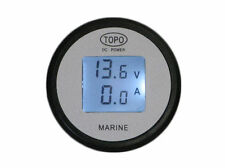 LCD DC Volt & Amp Meter/Gauge/Monitor/50A/battery monitor/solar/auto/RV/boat/HHO