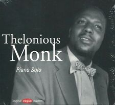 """Thelonious MONK """"Piano solo"""" (CD Digipack) 1954 -NEUF / NEW-"""