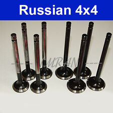 Auslassventile 4 St. + Einlassventile 4St.  für Lada Niva 2121, 21213, 21214