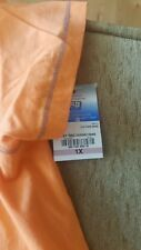 Brand New SB ACTIVE Scalloped Neck KNIT TOP Sweet Nectarine 1X