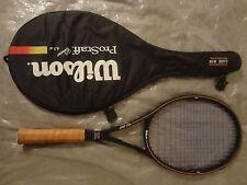 RARE! #3 Wilson ProStaff MidSize PWS Tennis Racket Grip 4 5/8 VG!