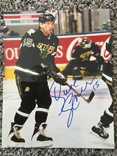 Dave Gagner Signed Autographed Stars 8 x 10 Photo NHL