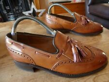 mens CHEANEY tassled loafers - size uk 5.5 F great condition