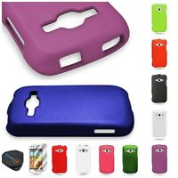 For Samsung Galaxy Ring M840 Prevail 2 Hard Rubberized Matte Cover Case