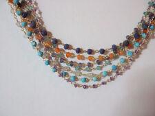 """Turquoise Chain 16 - 17.99"""" Fine Necklaces & Pendants"""