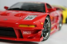1/18 JDM ACURA NSX ENDLESS BRAKES DRIFT MUSCLE MACHINES Die-cast RED CUSTOM MINT