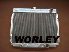 3 core aluminum radiator for Ford Mustang 1967 1968 1969 1970 & Fairlane 1969 V8