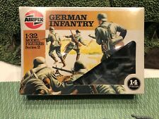 AIRFIX GERMAN INFANTRY 1/32scale  HUMBROL ISSUED. FACTORY SEALED