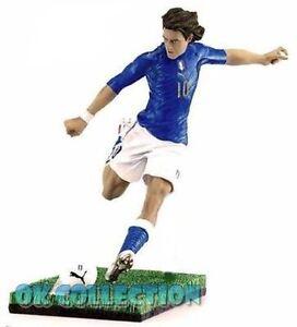 "Soccer Plastic Figure FRANCESCO TOTTI ITALY (h. 6"") - by Fanatico (sealed)"