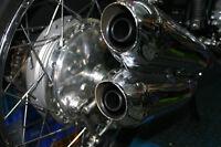 4 x Auspuffeinsatz spezial für 4-4 Auspuff Kawasaki 900, Z1, Z900, Bj. 1972-76