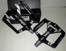 SMS Aluminum. Mountain  Bike Bearing Pedals - flat - NIB