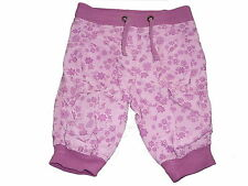 Papagino tolle Hose Gr. 62 / 68 rosa-lila mit Blumenmustern !!