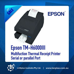 Epson TM-H6000III Multifuction Thermal Receipt Printer  Serial or parallel Port
