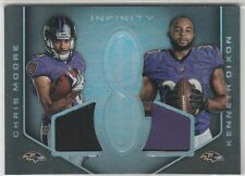 CHRIS MOORE KENNETH DIXON DUAL ROOKIE MATERIALS JERSEY #/288 2016 INFINITY