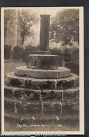 Derbyshire Postcard - The Dial Stone, Hope  RT1696